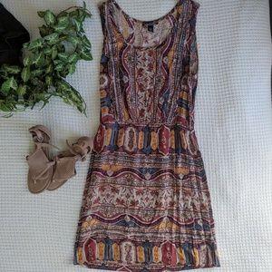 Lucky Brand Printed Coachella Dress
